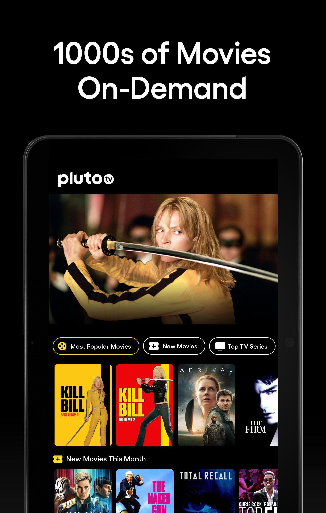 Pluto TV It's Free TV 5.3.0 Screenshot 8