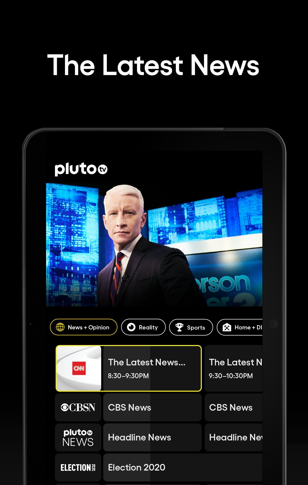 Pluto TV It's Free TV 5.3.0 Screenshot 9