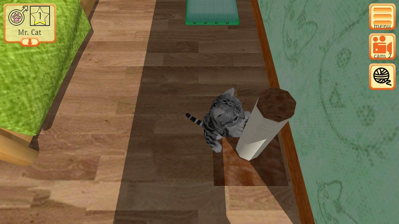 Cute Pocket Cat 3D - Part 2 1.0.8.1 Screenshot 1