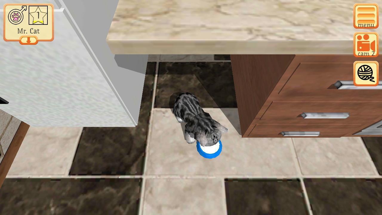 Cute Pocket Cat 3D - Part 2 1.0.8.1 Screenshot 2