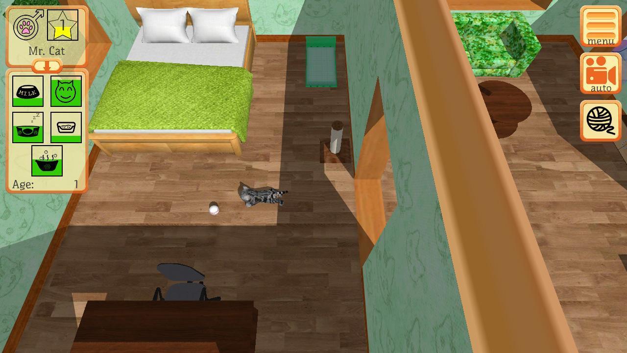 Cute Pocket Cat 3D - Part 2 1.0.8.1 Screenshot 3
