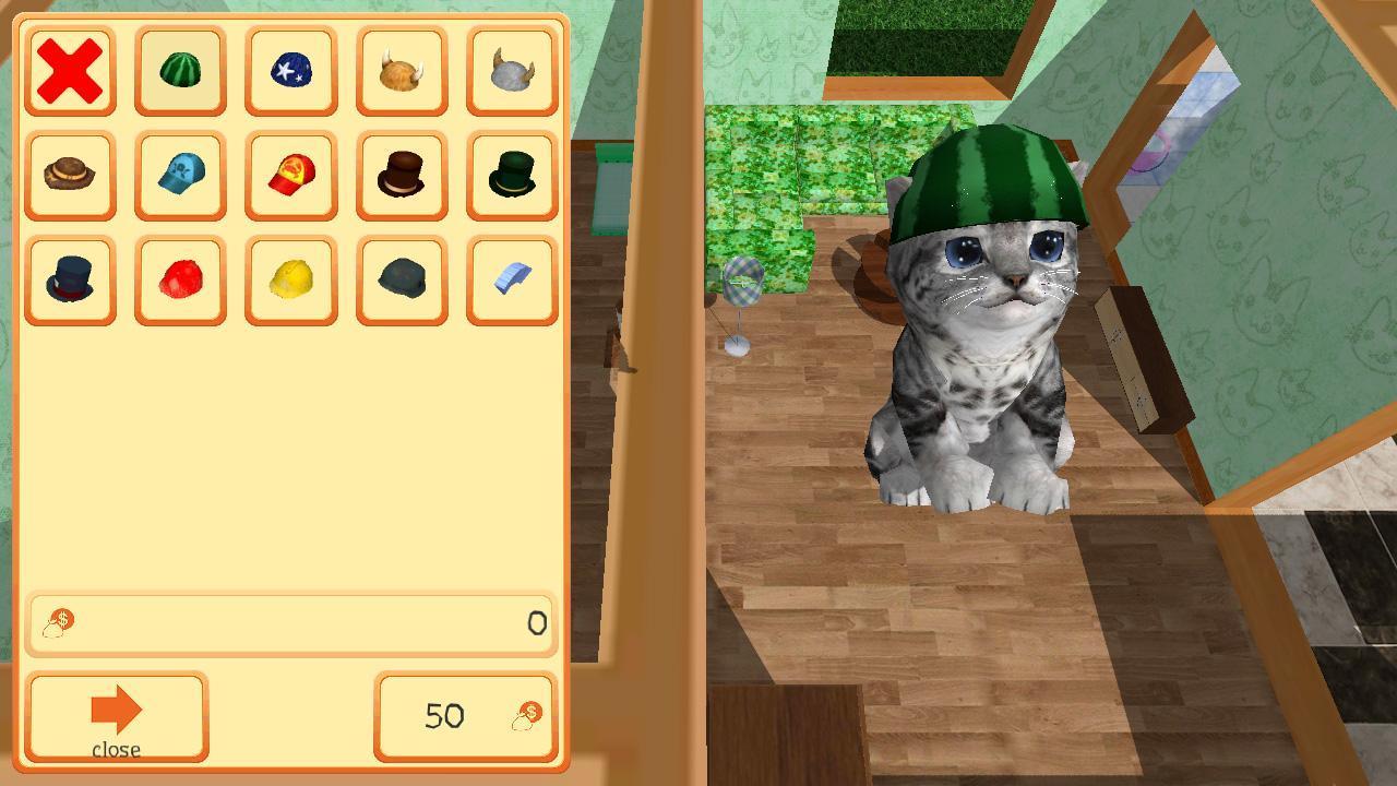 Cute Pocket Cat 3D - Part 2 1.0.8.1 Screenshot 4