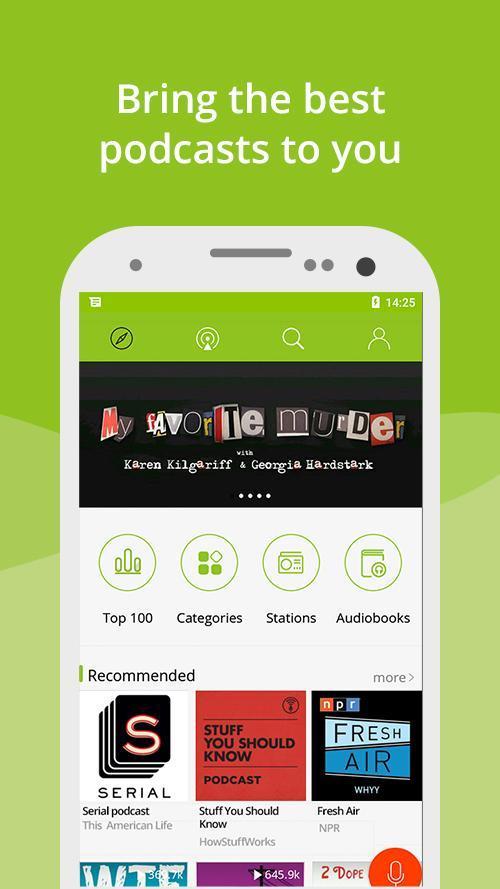 Podcast App & Podcast Player - Podbean 7.5.3 Screenshot 1