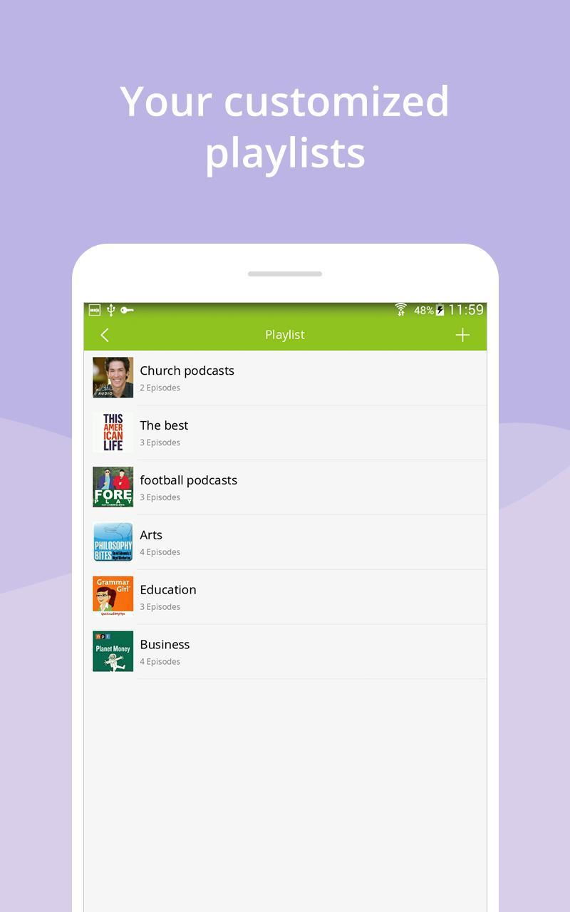 Podcast App & Podcast Player - Podbean 7.5.3 Screenshot 11