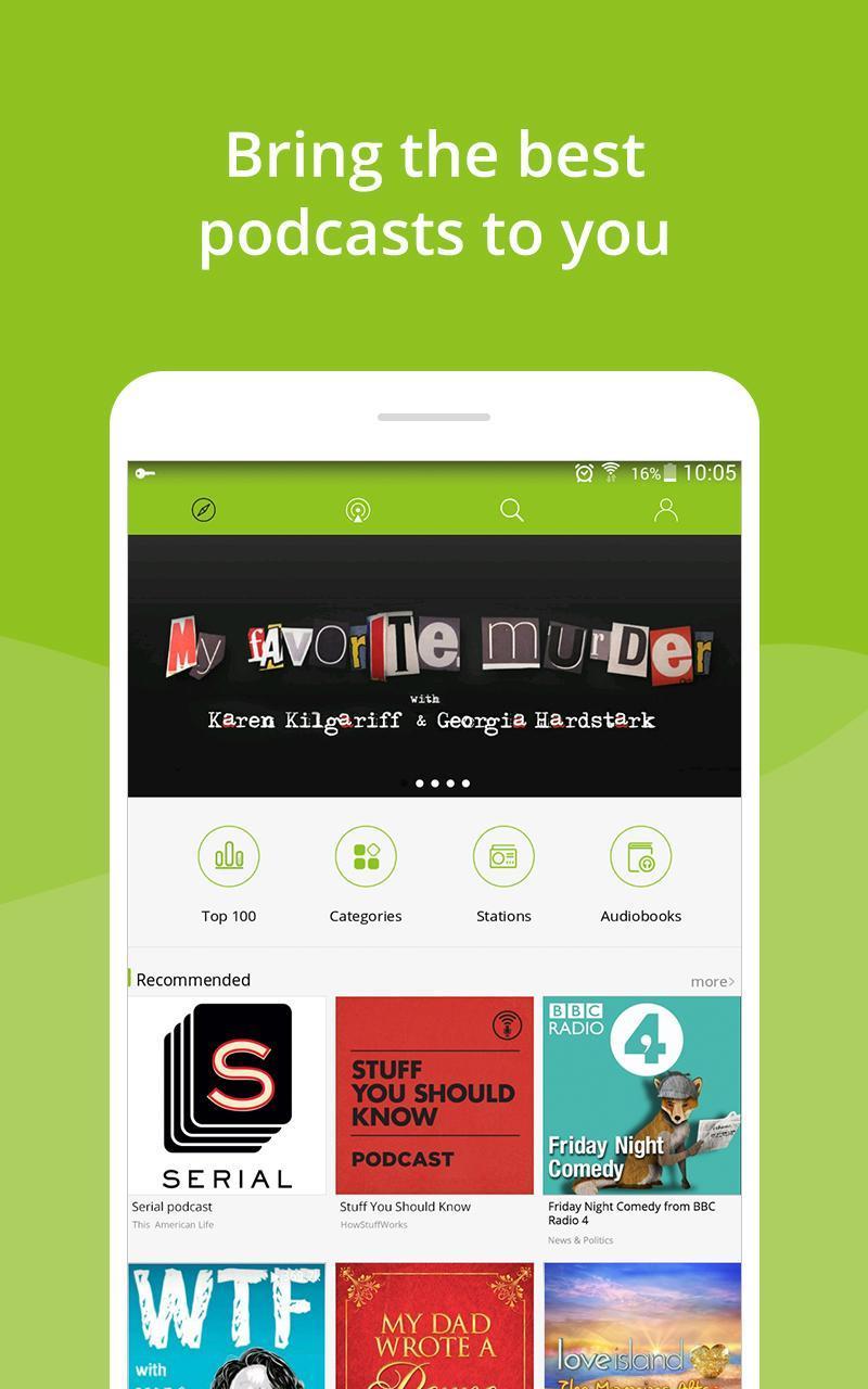 Podcast App & Podcast Player - Podbean 7.5.3 Screenshot 13