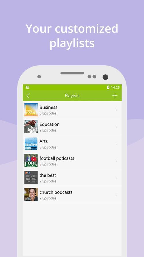 Podcast App & Podcast Player - Podbean 7.5.3 Screenshot 5