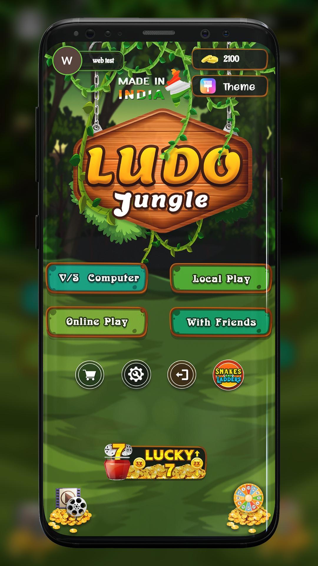 Ludo Jungle - Fun online Dice Game 1.4 Screenshot 1