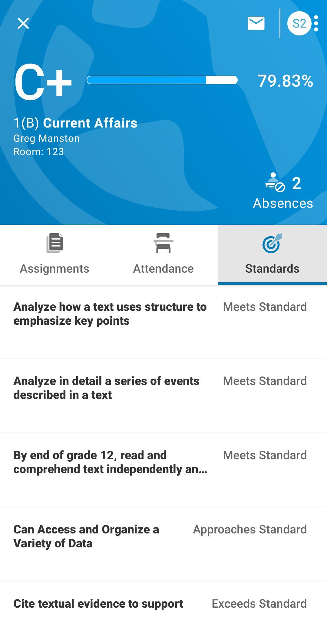 PowerSchool Mobile 2.2.1 Screenshot 5