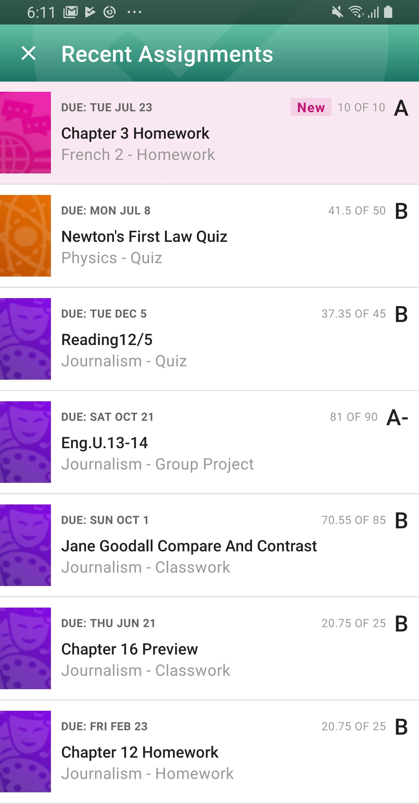PowerSchool Mobile 2.2.1 Screenshot 6