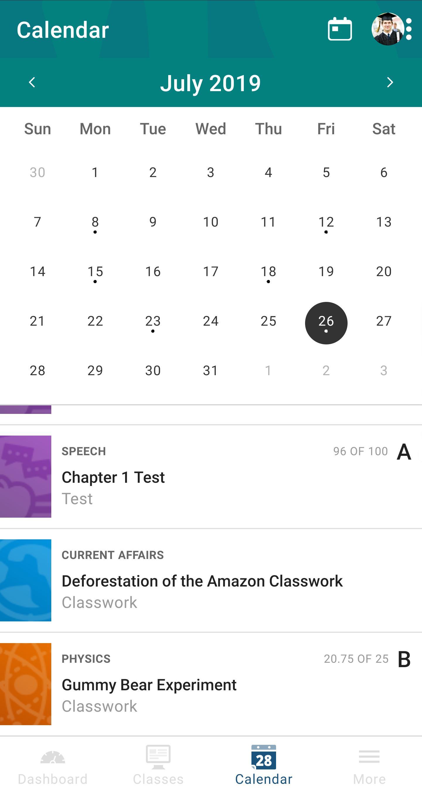 PowerSchool Mobile 2.2.1 Screenshot 8