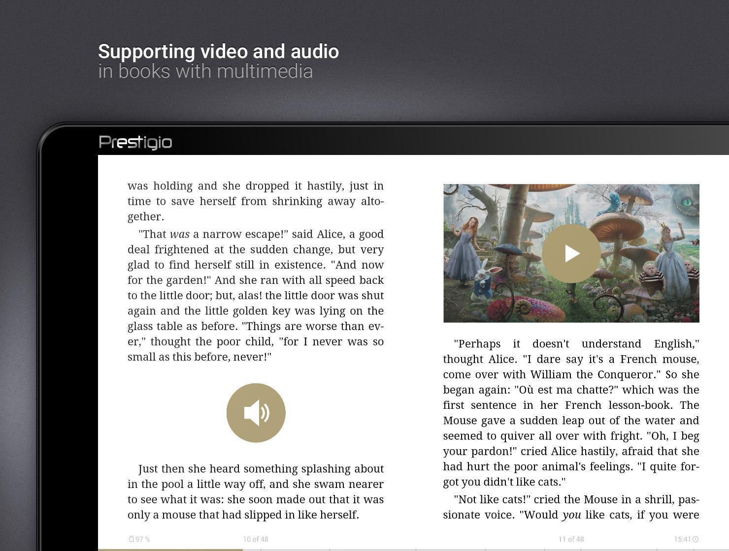 eReader Prestigio Book Reader 6.3.0 Screenshot 14
