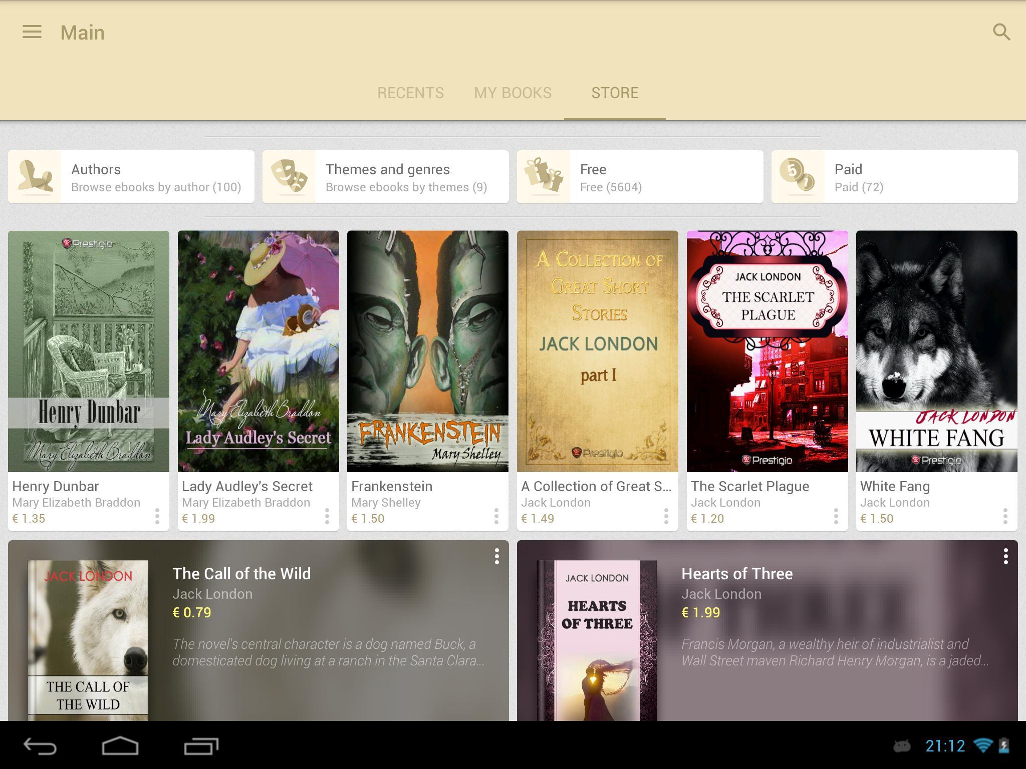eReader Prestigio Book Reader 6.3.0 Screenshot 15