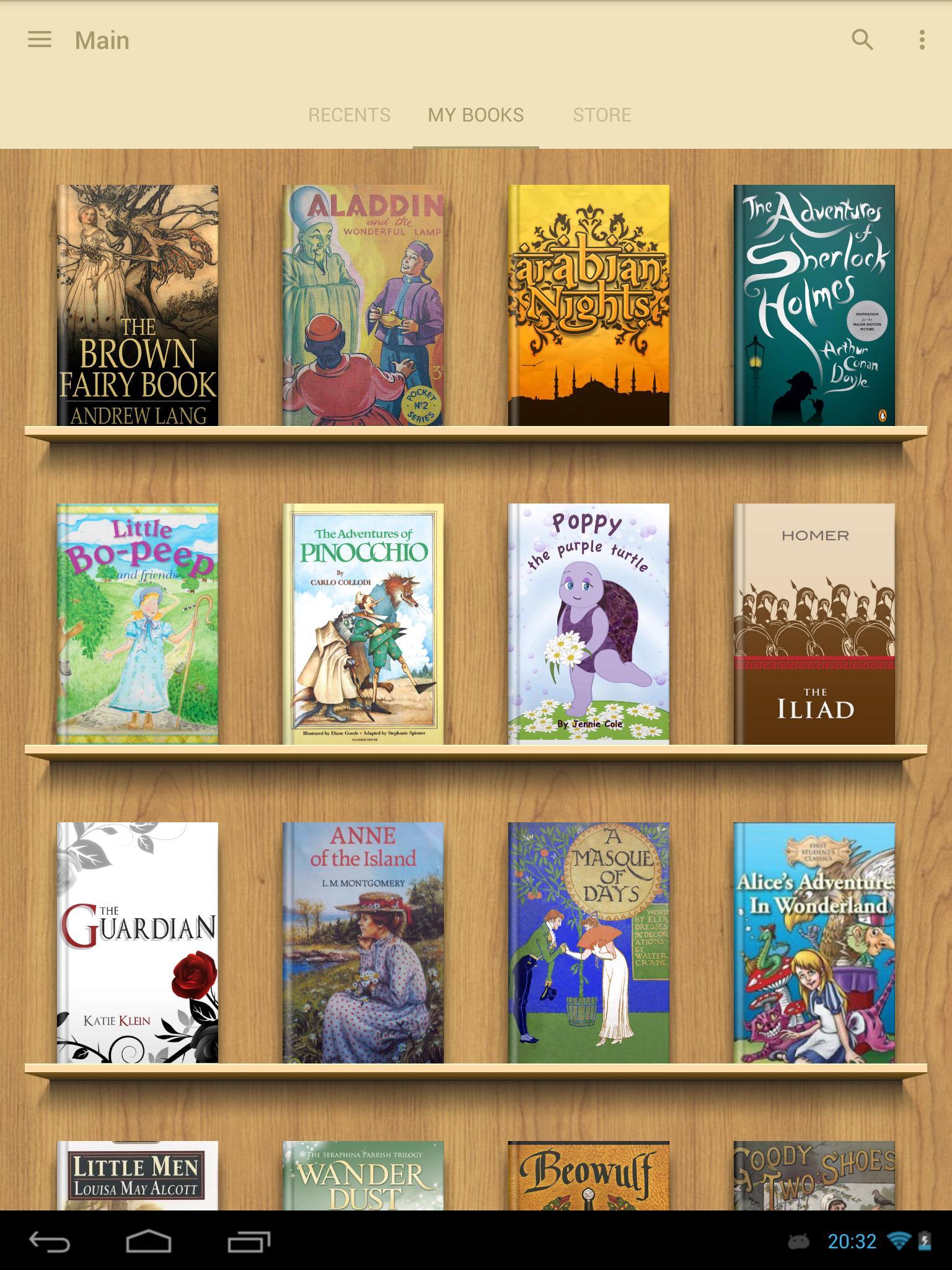 eReader Prestigio Book Reader 6.3.0 Screenshot 17