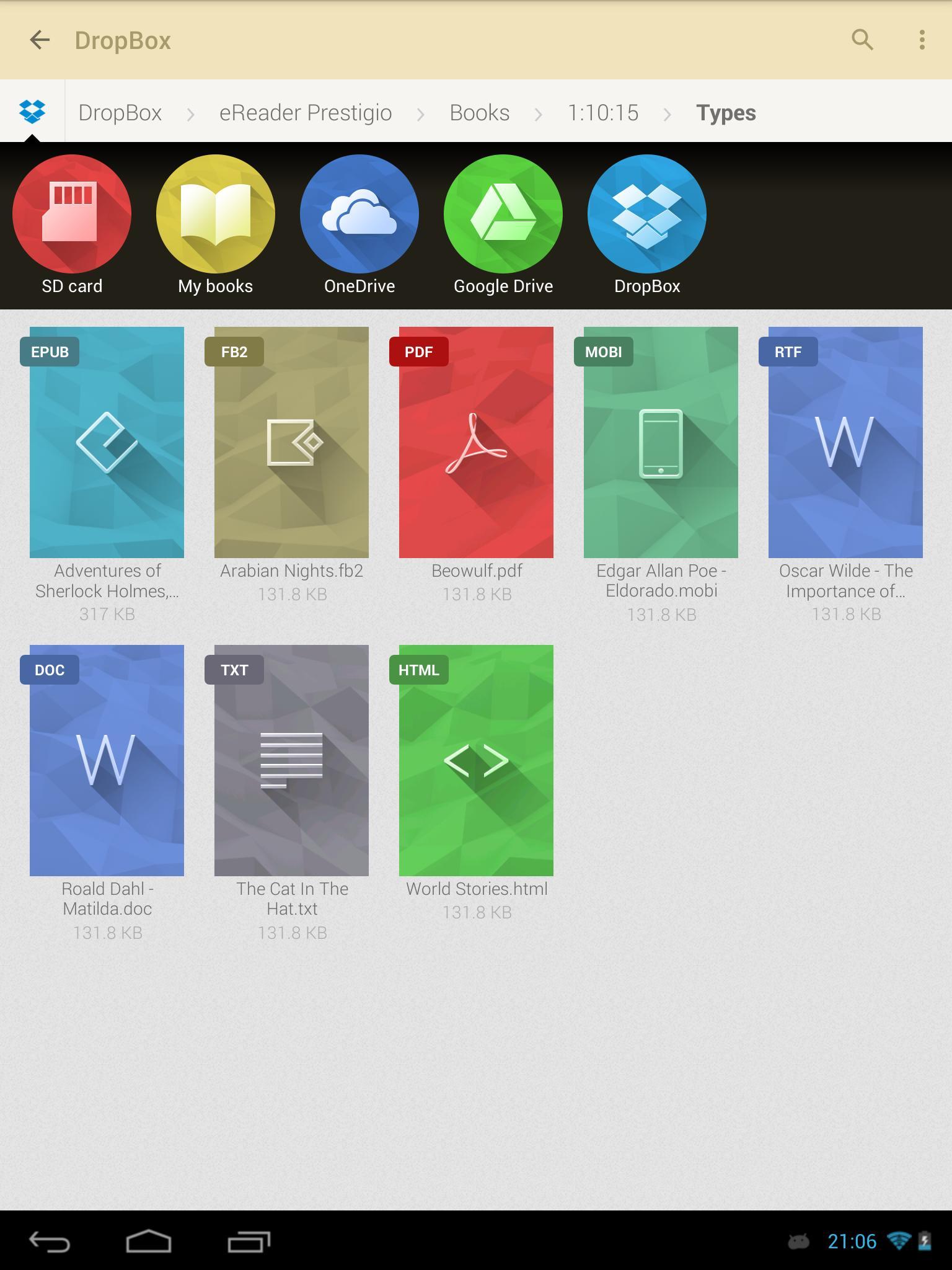 eReader Prestigio Book Reader 6.3.0 Screenshot 18