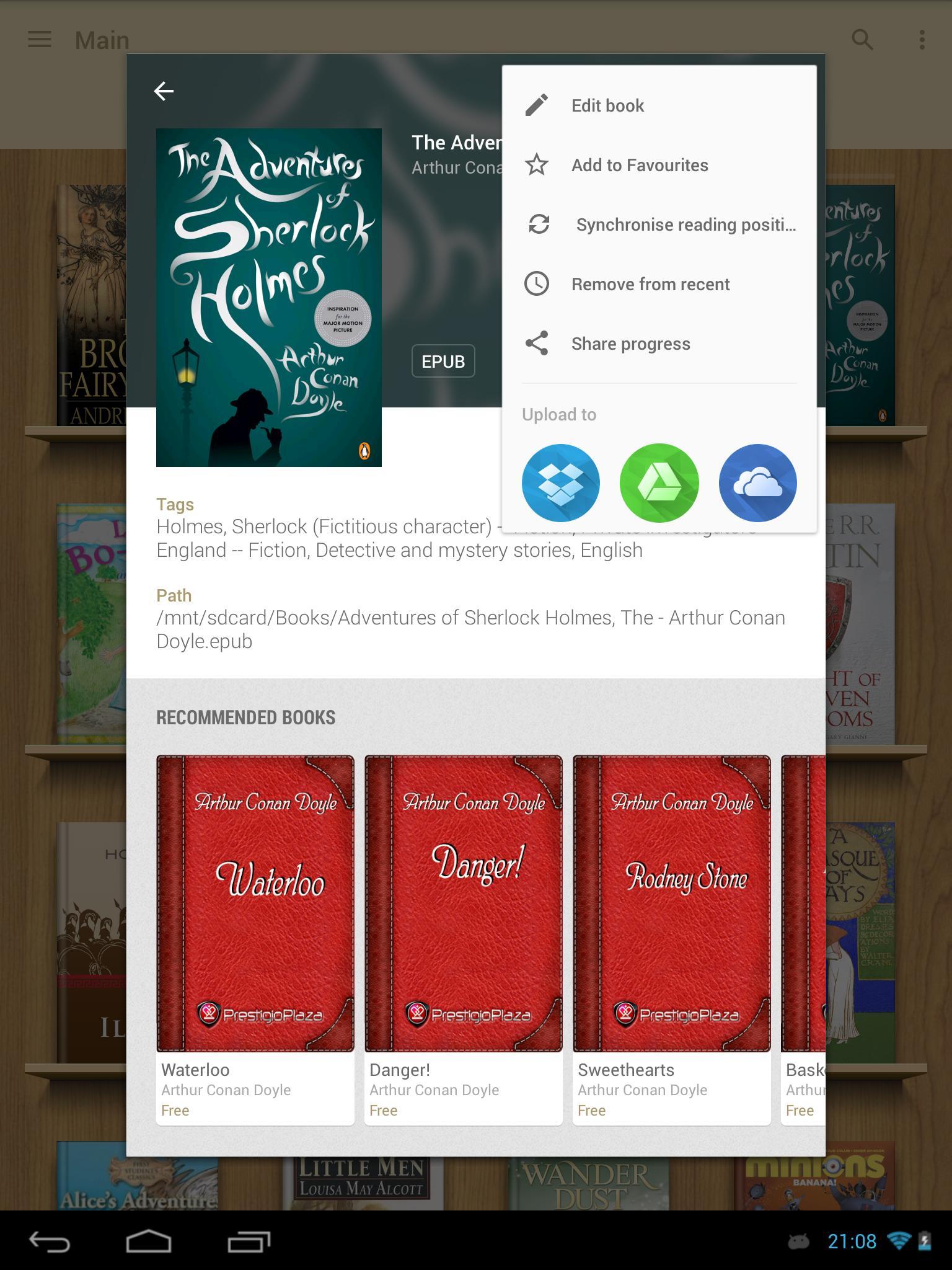 eReader Prestigio Book Reader 6.3.0 Screenshot 21