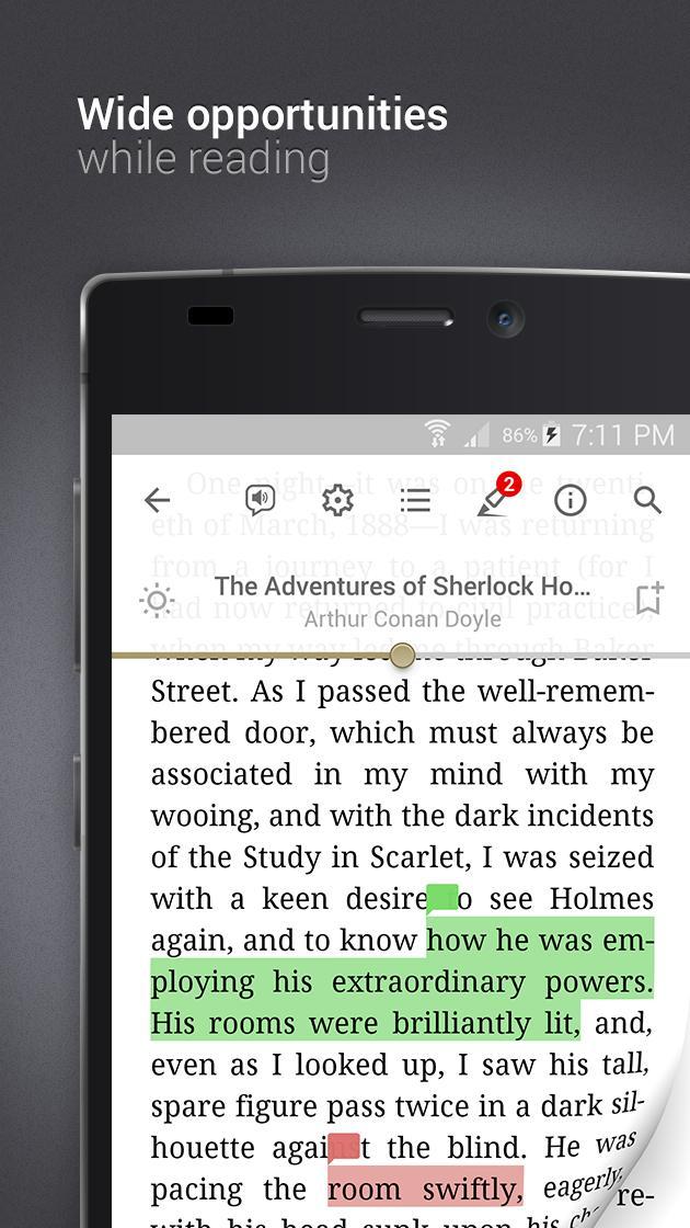 eReader Prestigio Book Reader 6.3.0 Screenshot 3