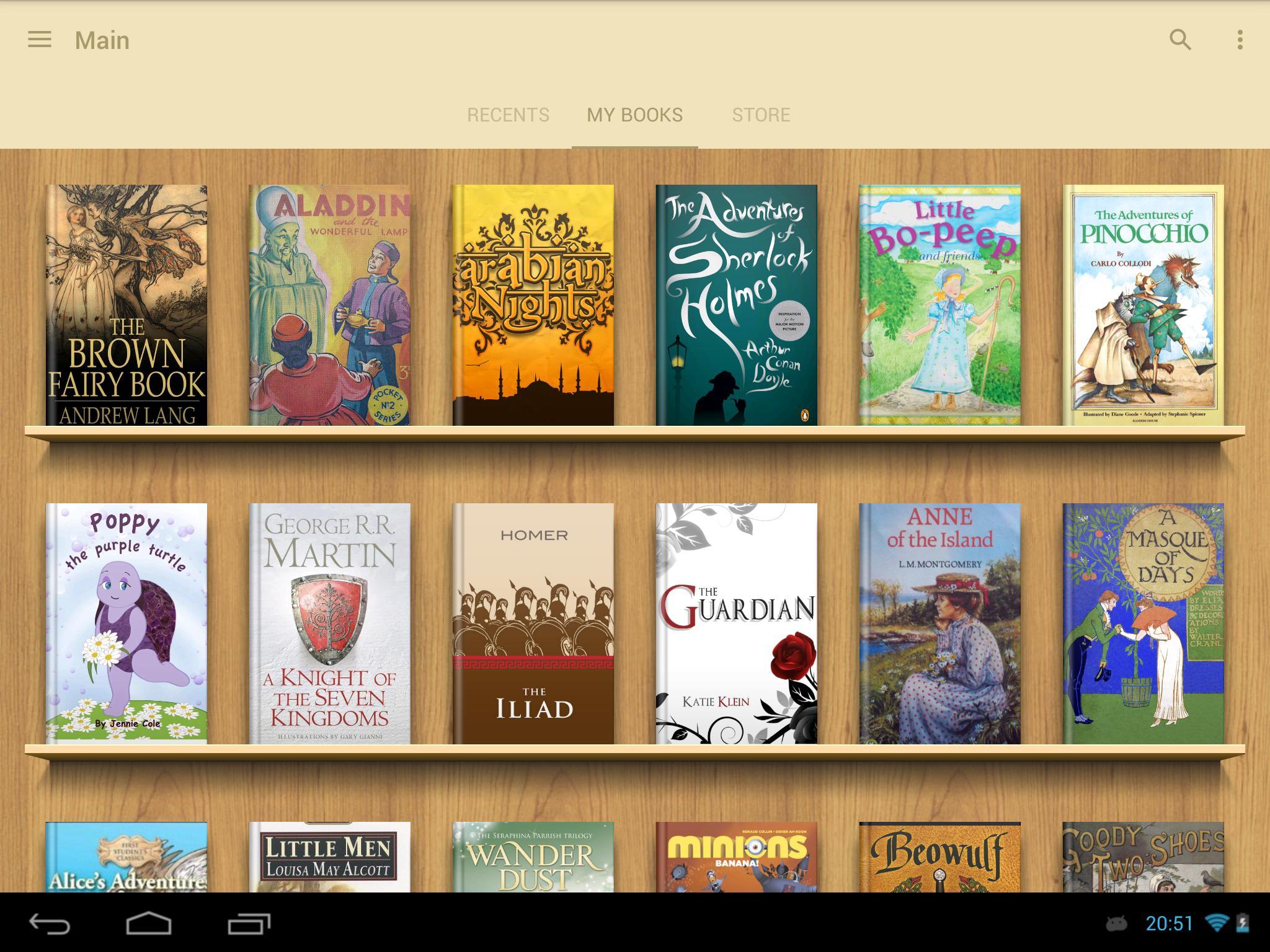 eReader Prestigio Book Reader 6.3.0 Screenshot 9