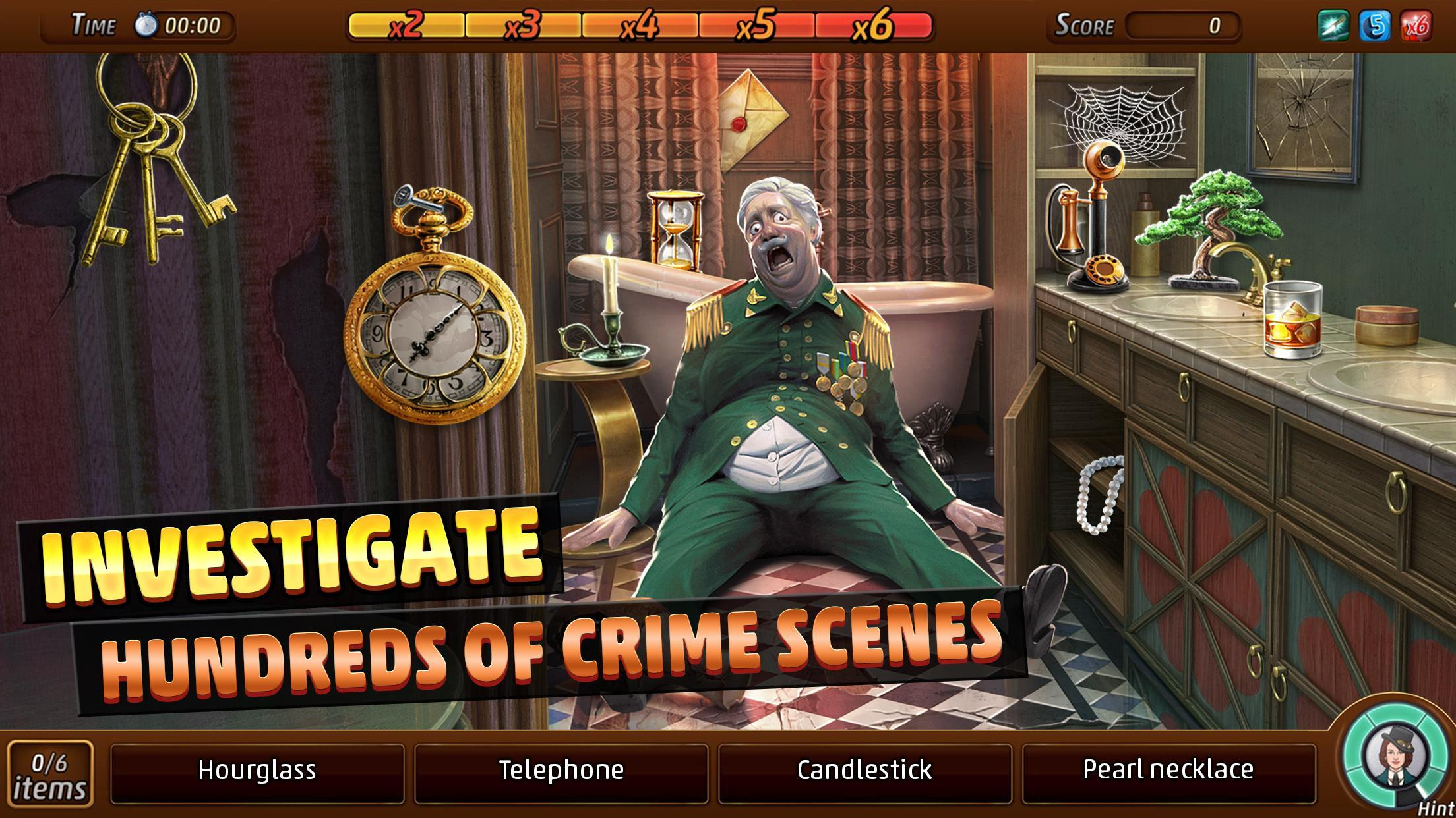 Criminal Case: Mysteries of the Past 2.35.1 Screenshot 1