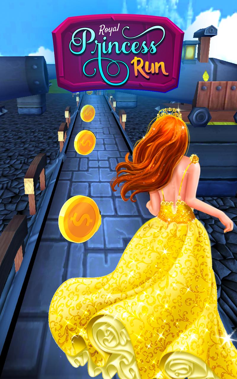Princess Castle Runner: Endless Running Games 2020 3.5 Screenshot 1