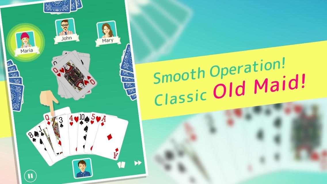 Old Maid - Free Card Game 1.4.4 Screenshot 1