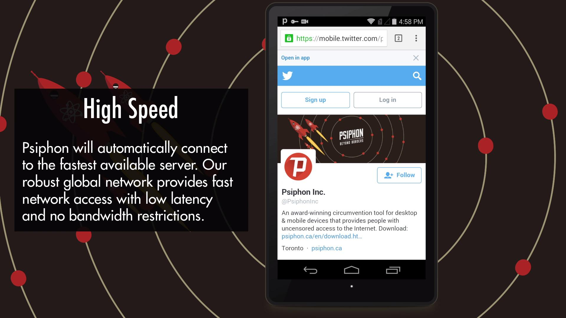 Psiphon Pro The Internet Freedom VPN 314 Screenshot 4