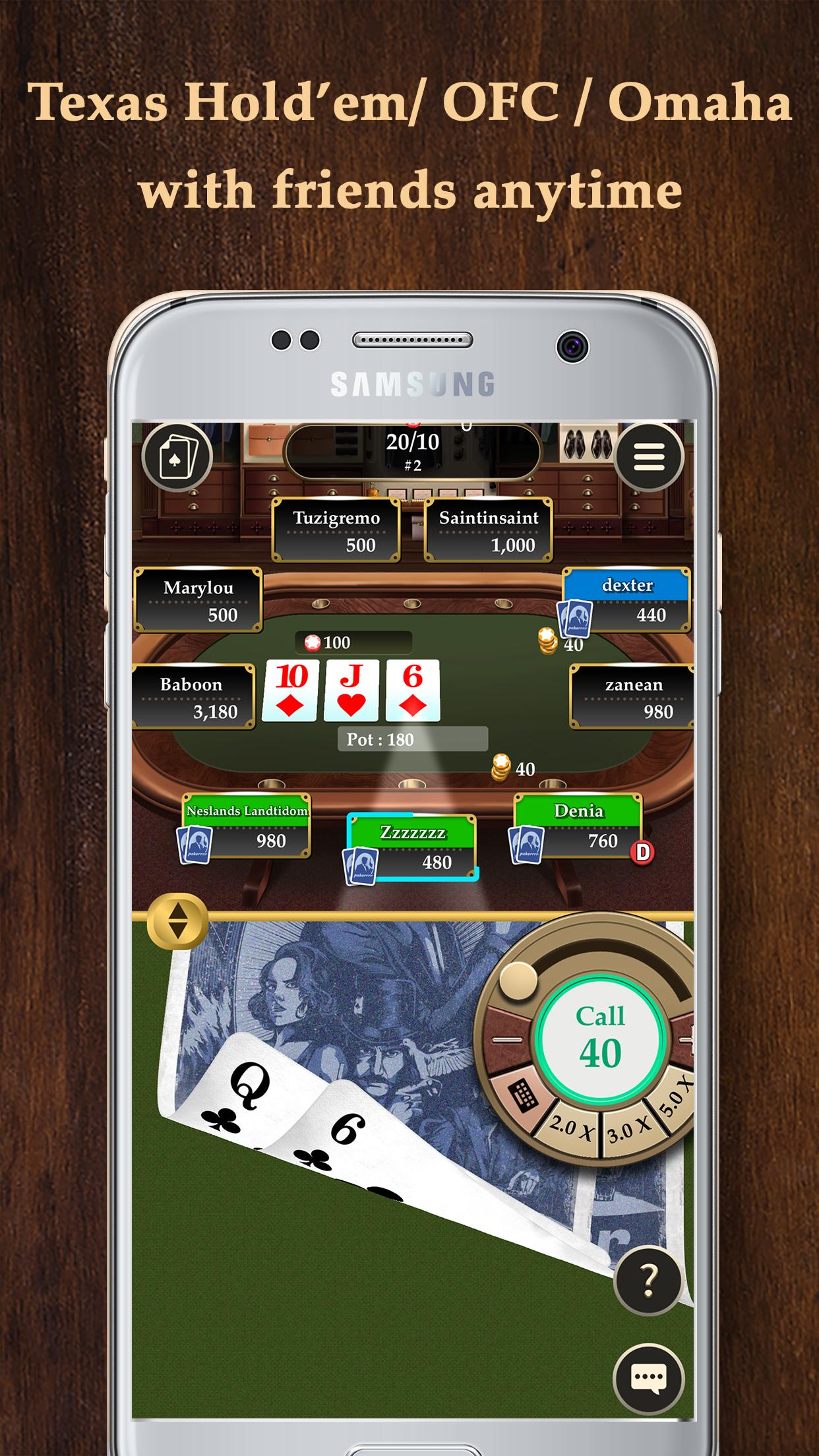Pokerrrr 2 Poker with Buddies 4.7.0 Screenshot 3