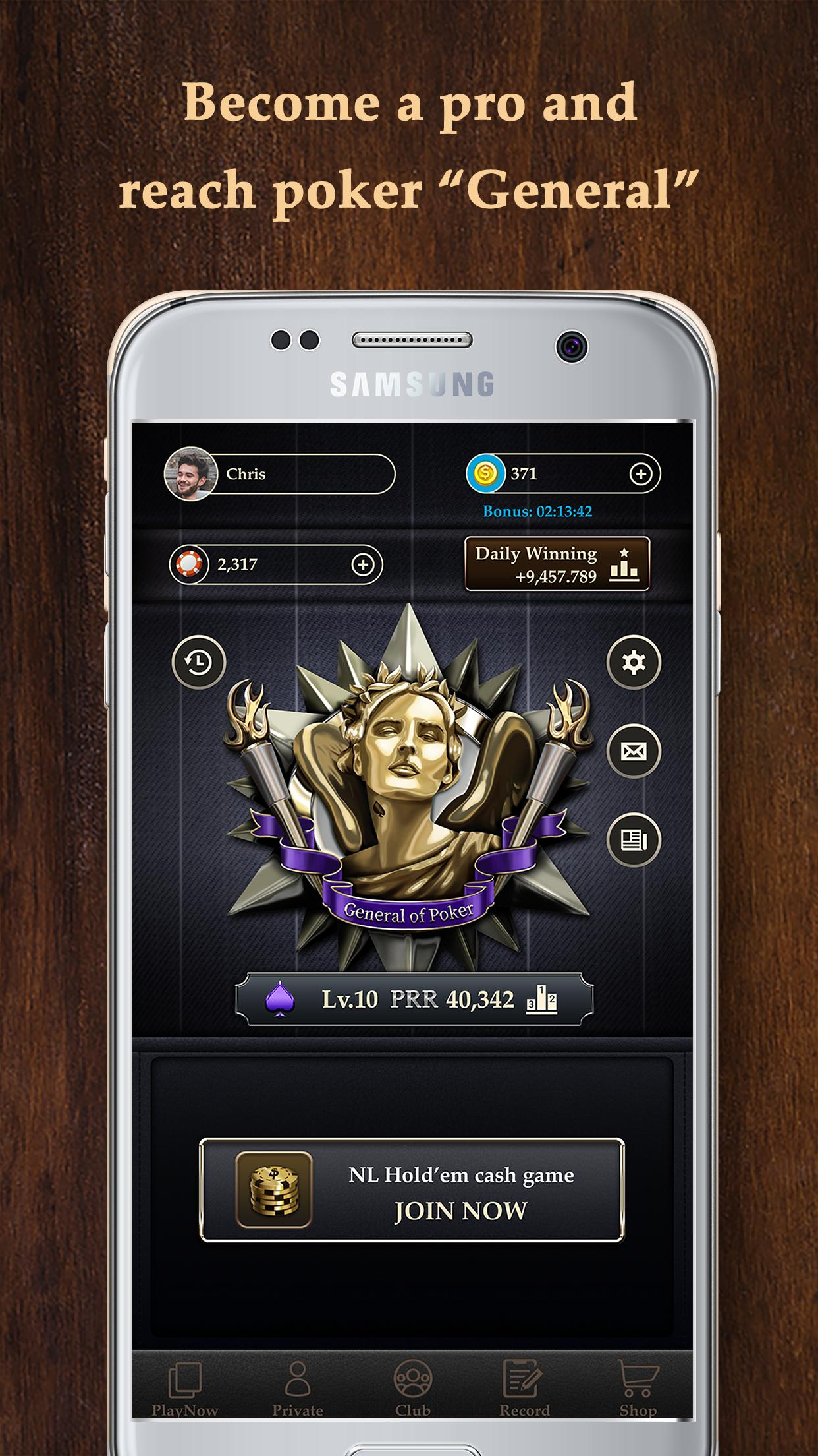 Pokerrrr 2 Poker with Buddies 4.7.0 Screenshot 5