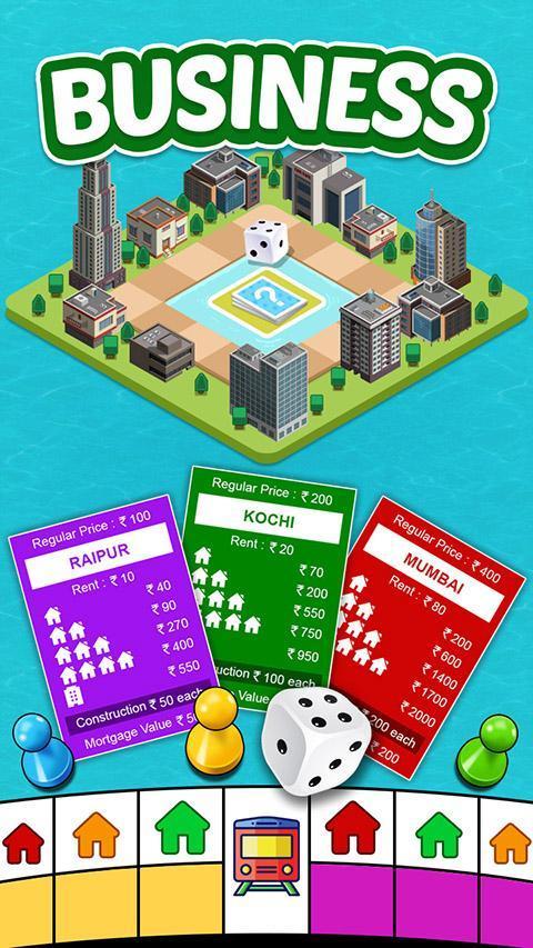 Vyapari : Business Board Game 1.9 Screenshot 1