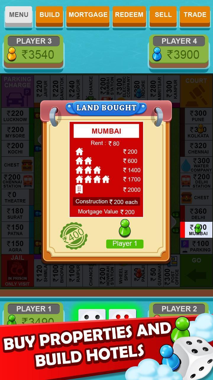 Vyapari : Business Board Game 1.9 Screenshot 9
