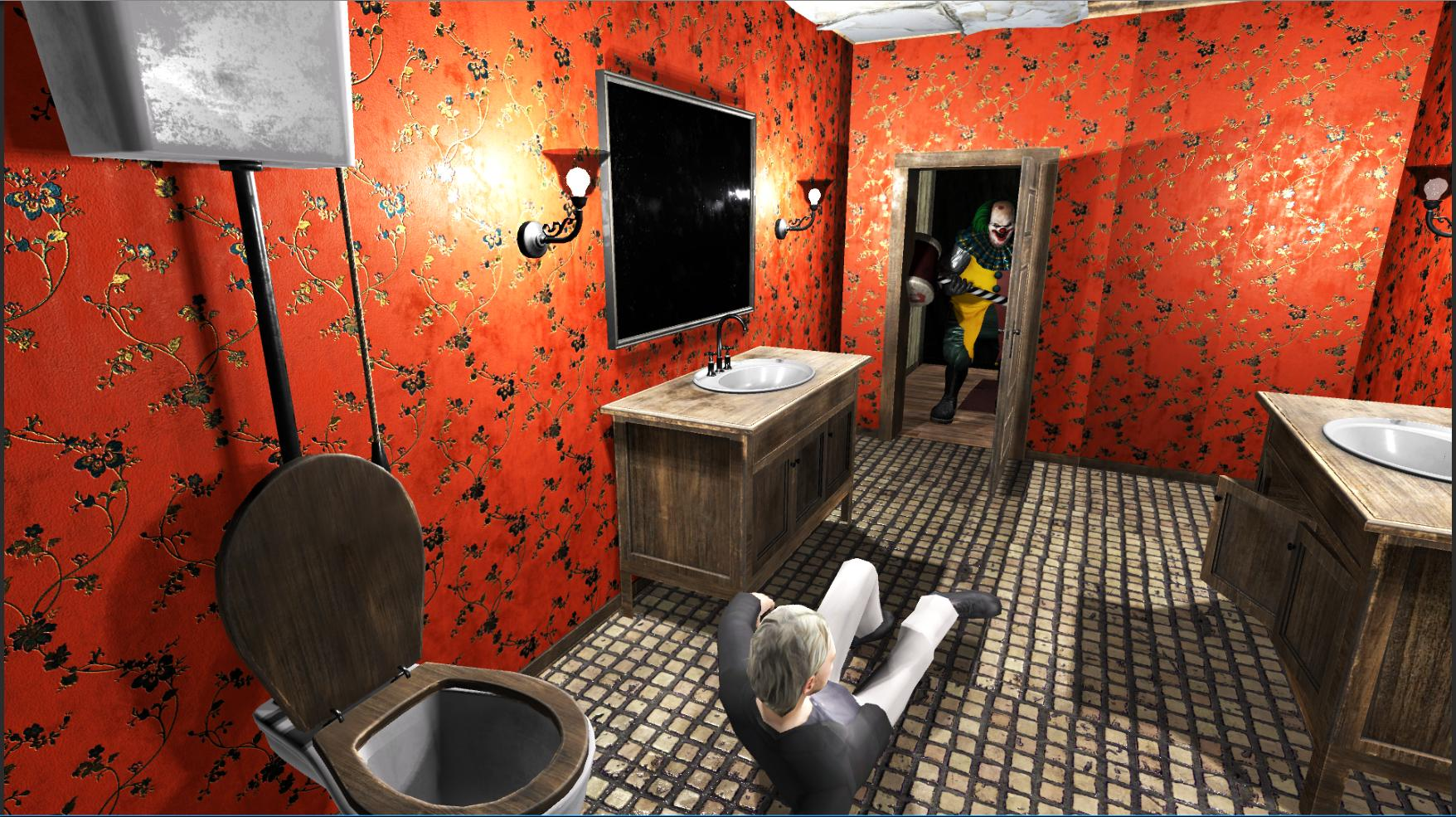 Horror Clown Pennywise - Scary Escape Game 2.0.20 Screenshot 3