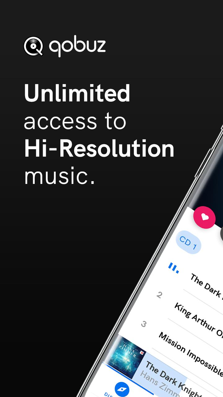Qobuz HD Music 5.4.3 Screenshot 1