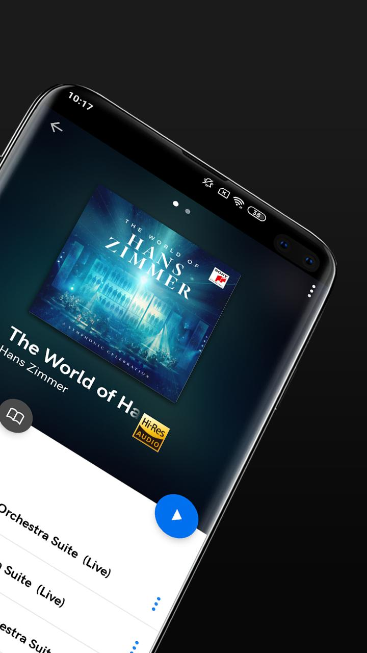 Qobuz HD Music 5.4.3 Screenshot 2