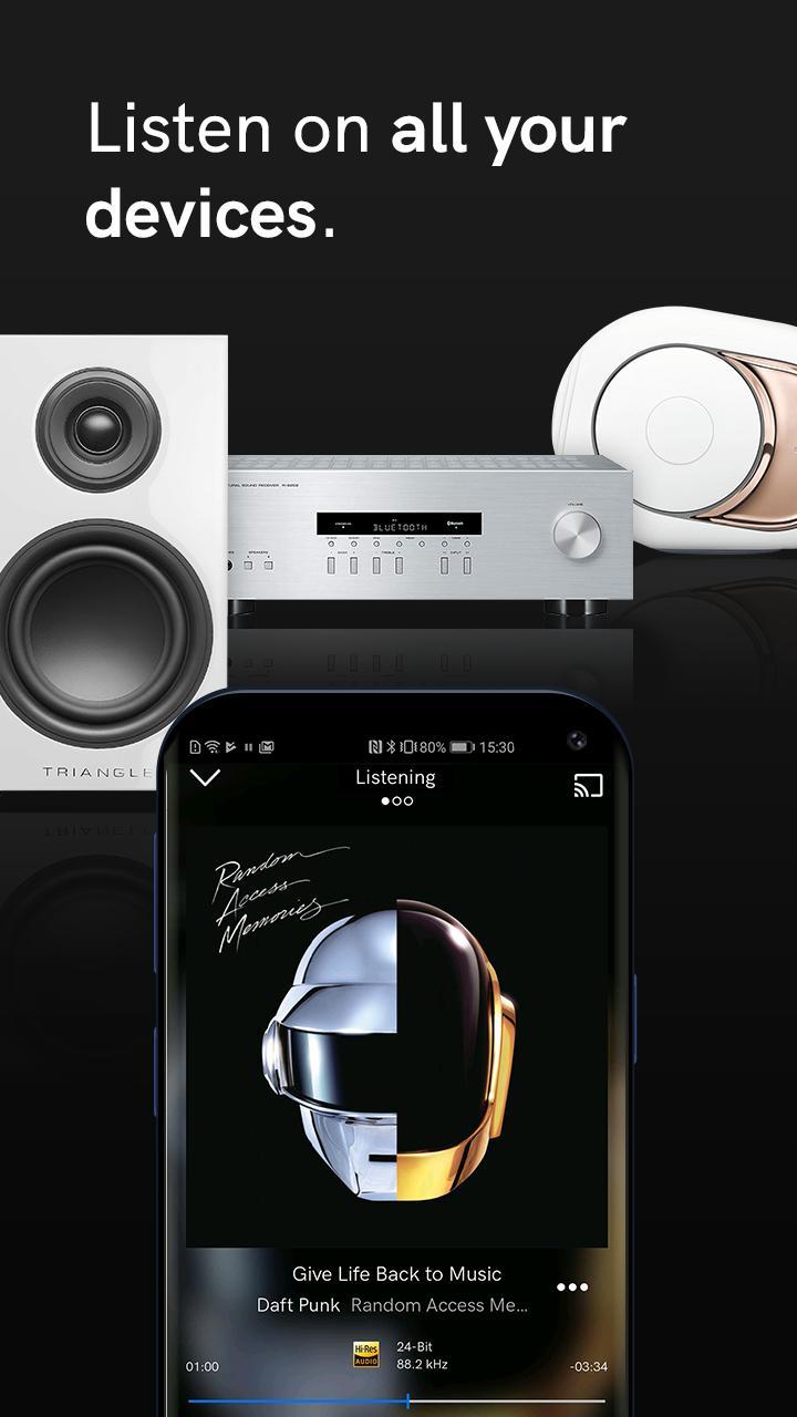 Qobuz HD Music 5.4.3 Screenshot 3