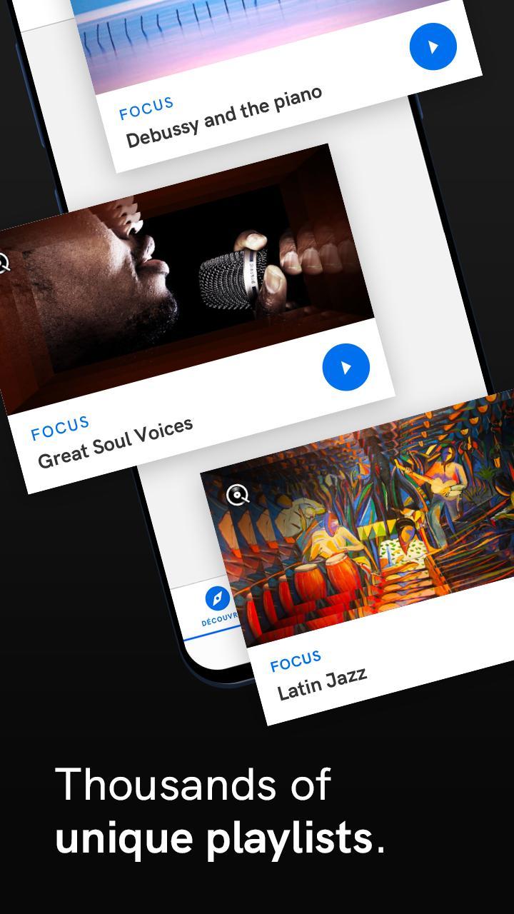 Qobuz HD Music 5.4.3 Screenshot 6