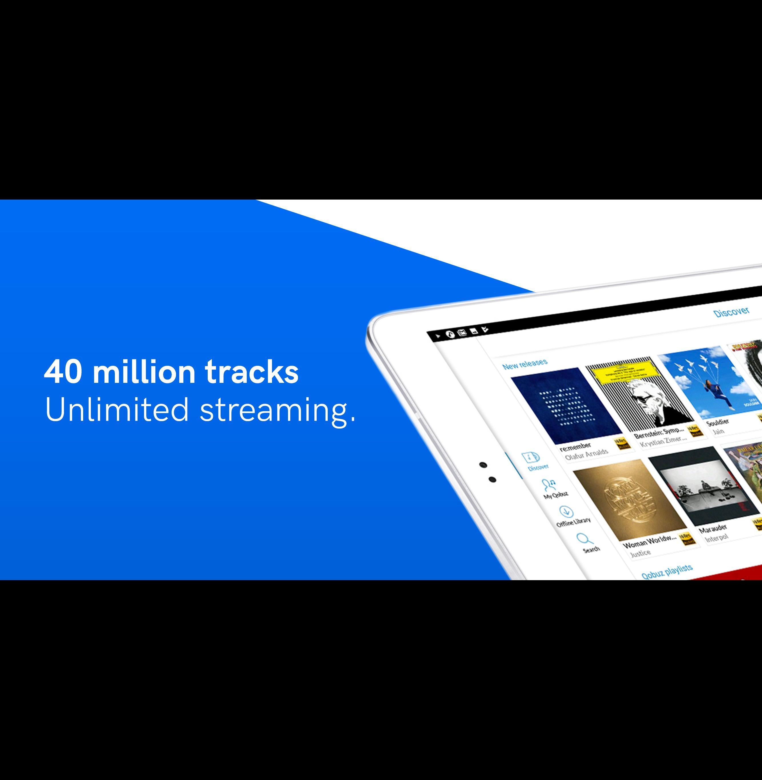 Qobuz HD Music 5.4.3 Screenshot 7