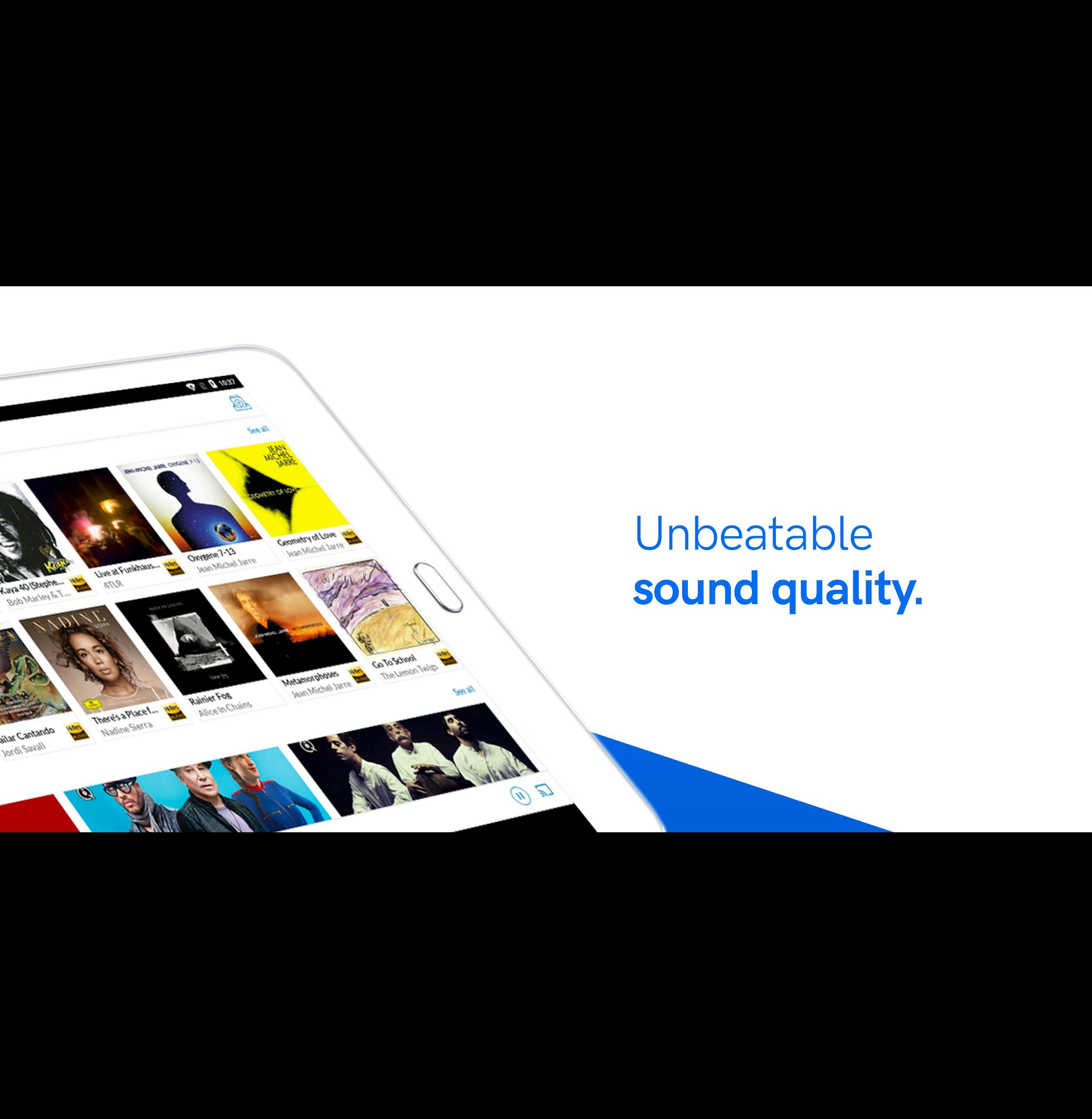 Qobuz HD Music 5.4.3 Screenshot 8