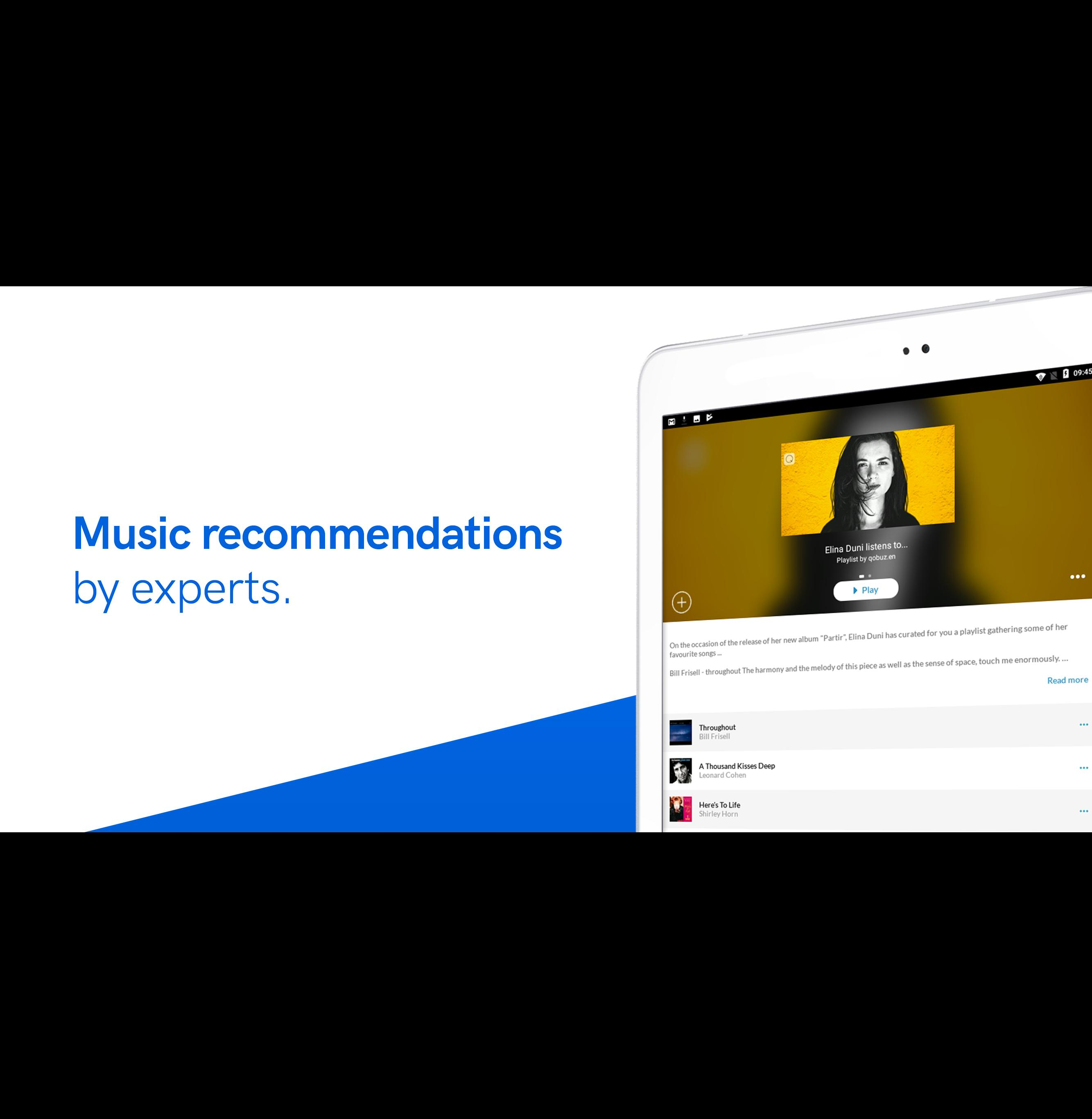 Qobuz HD Music 5.4.3 Screenshot 9