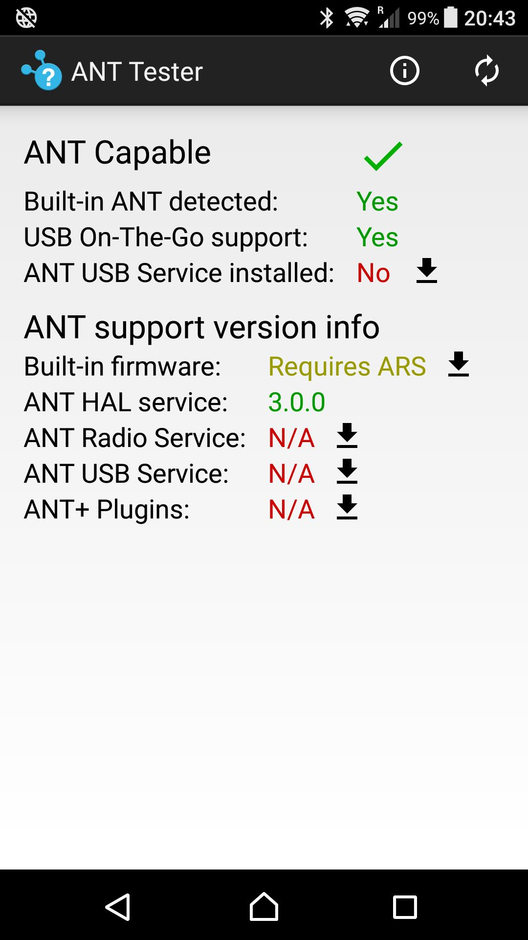 ANTtester 1.22 Screenshot 1