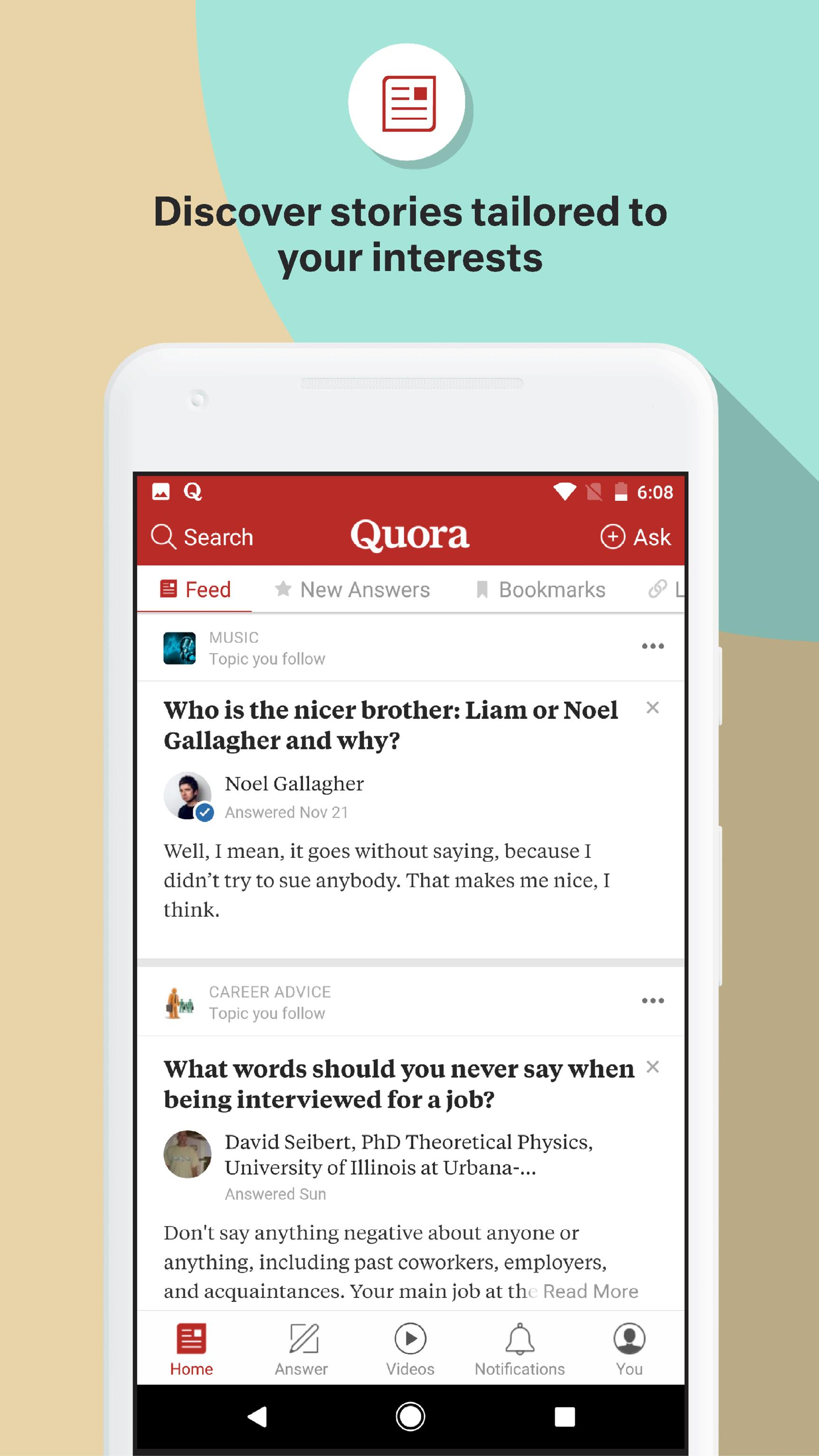 Quora — Questions, Answers, and More 2.8.31 Screenshot 1