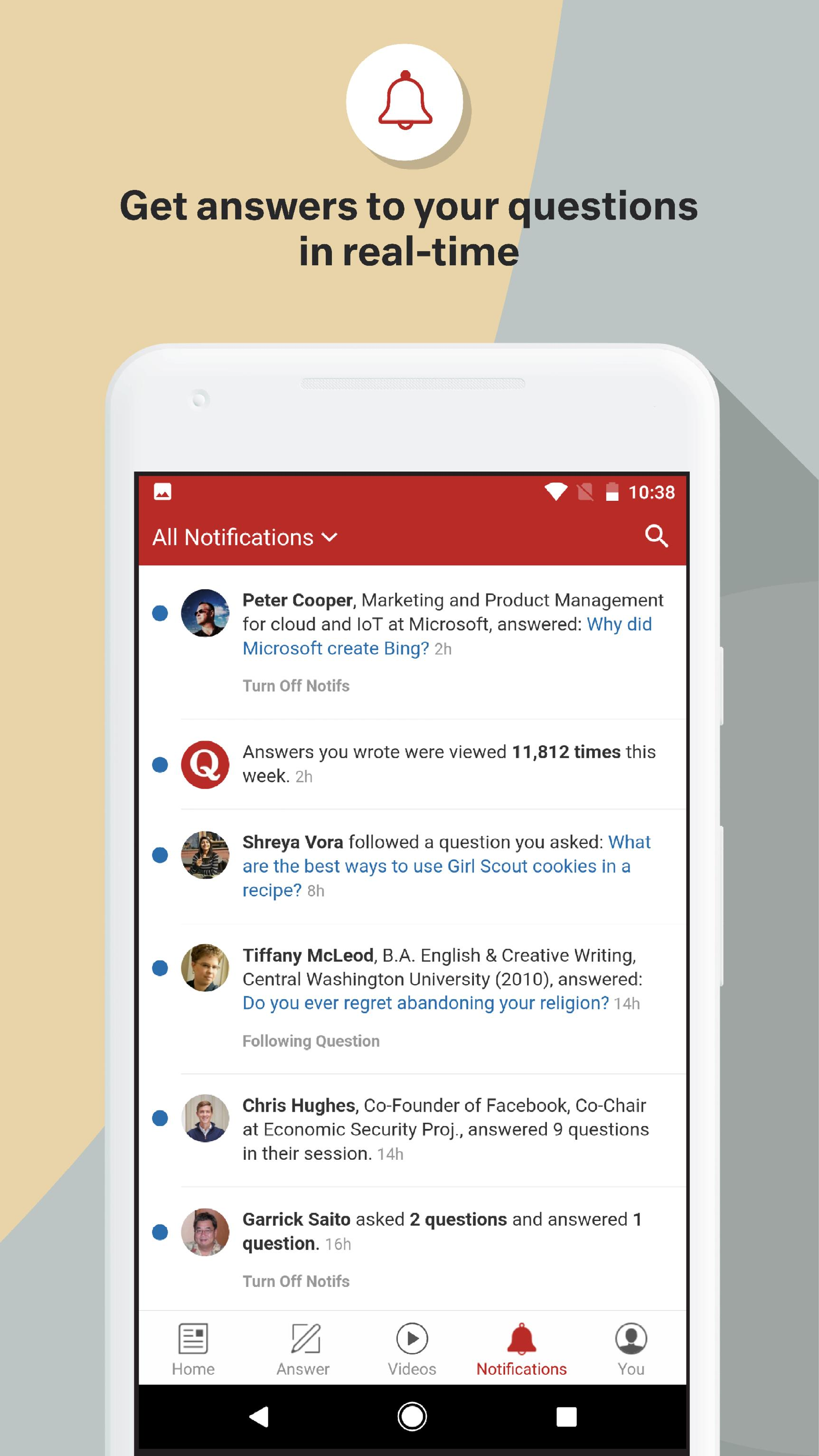 Quora — Questions, Answers, and More 2.8.31 Screenshot 5