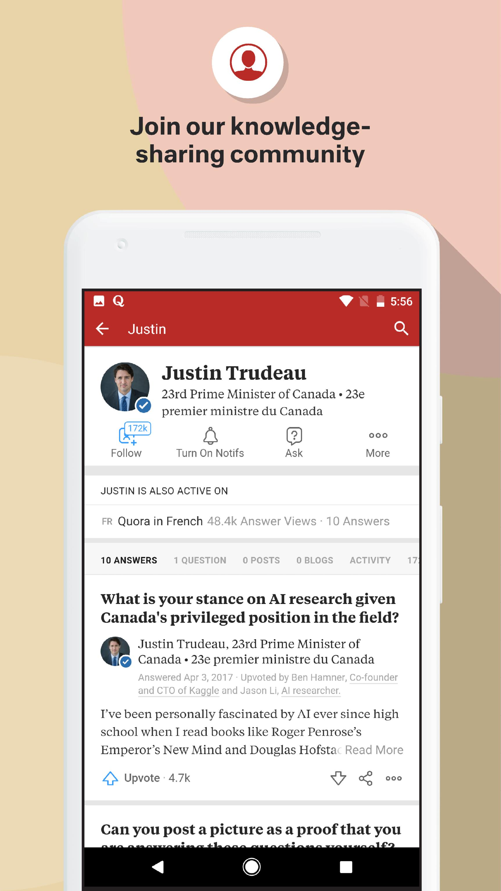 Quora — Questions, Answers, and More 2.8.31 Screenshot 6