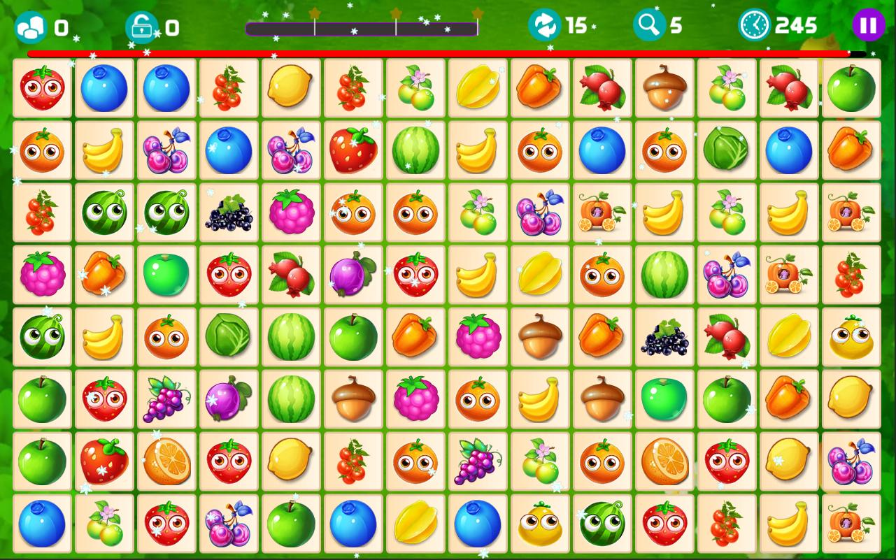 Onet Fruit Tropical 2019 – Connect Classic Game 1.0 Screenshot 1