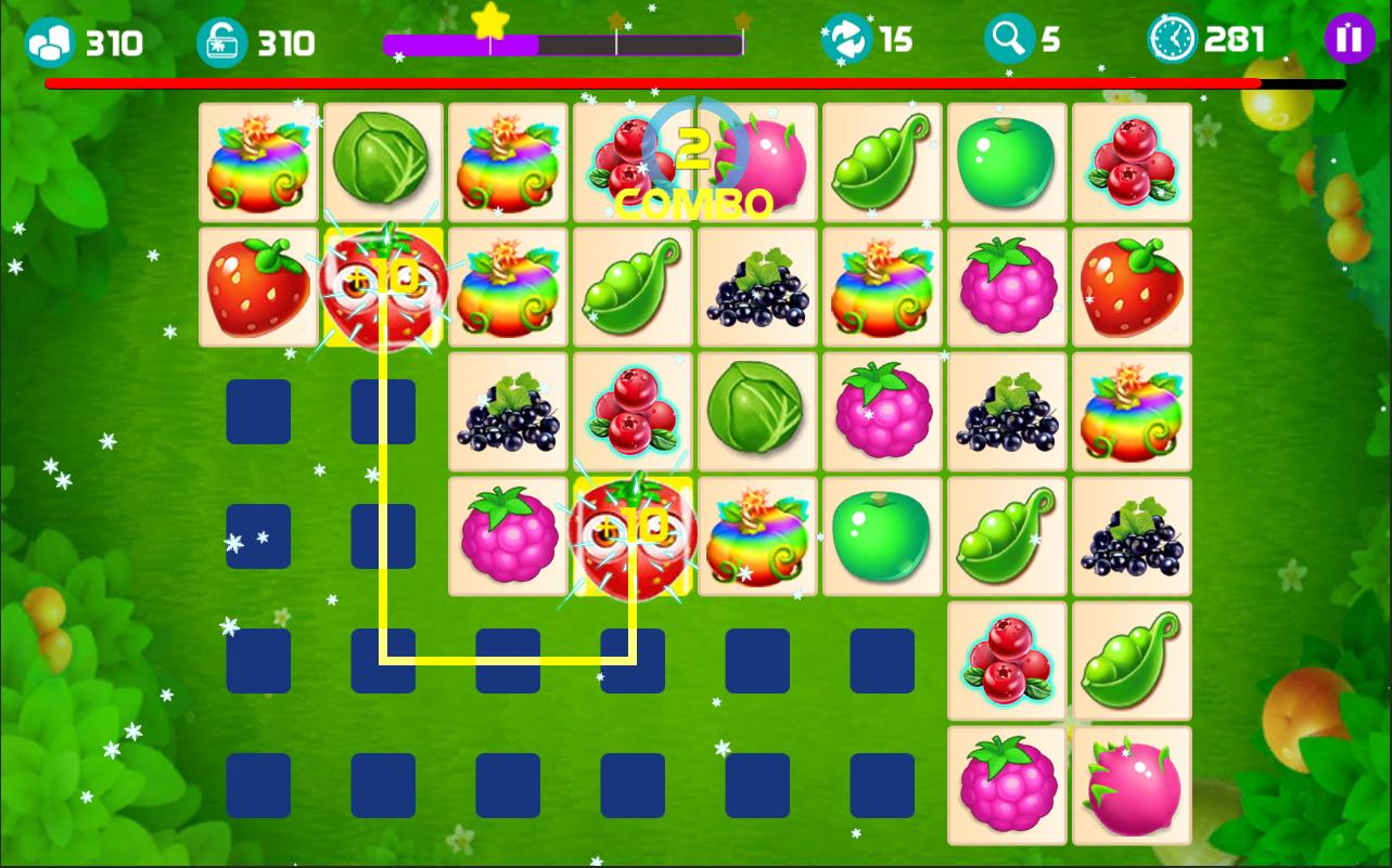 Onet Fruit Tropical 2019 – Connect Classic Game 1.0 Screenshot 3