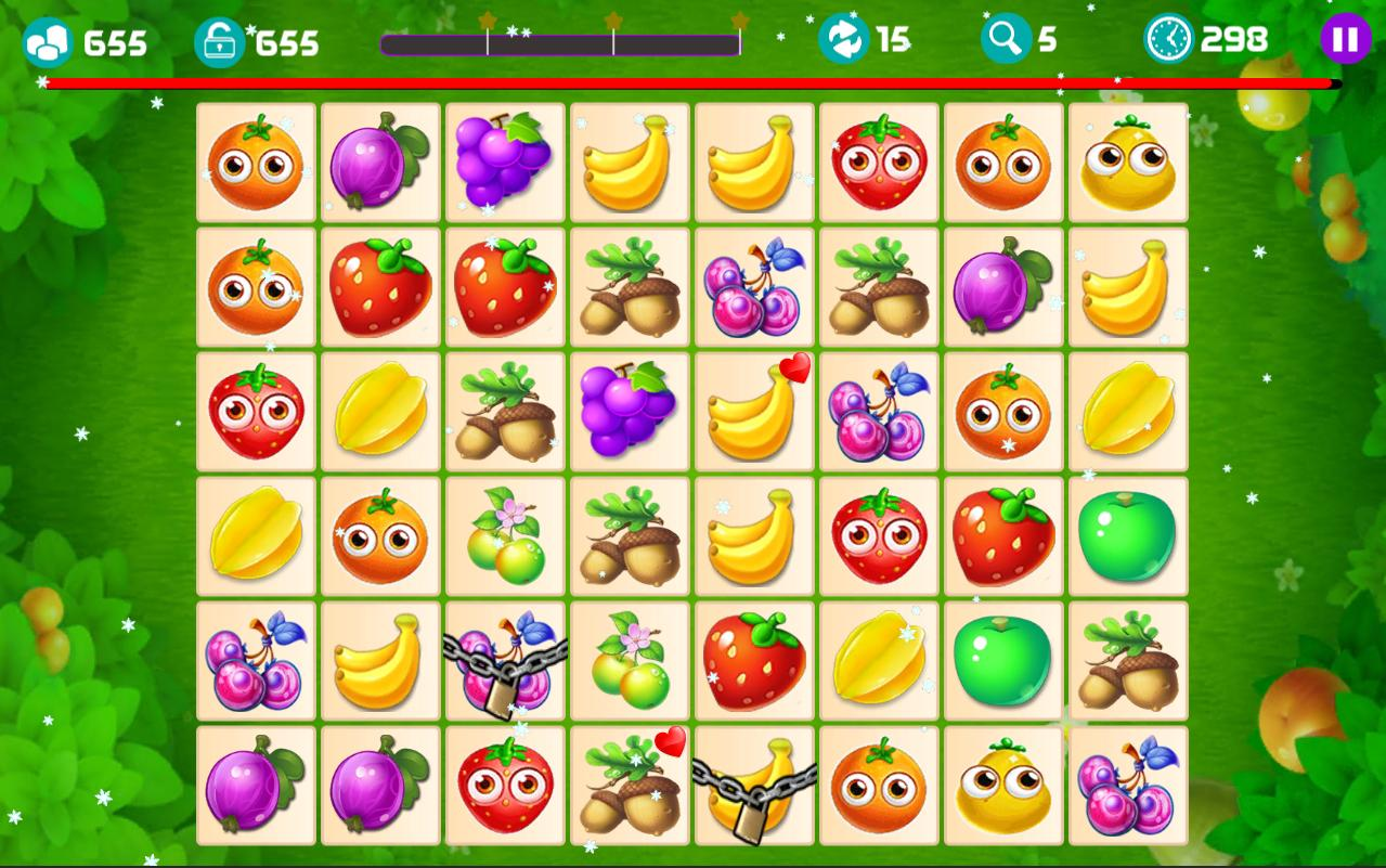 Onet Fruit Tropical 2019 – Connect Classic Game 1.0 Screenshot 4