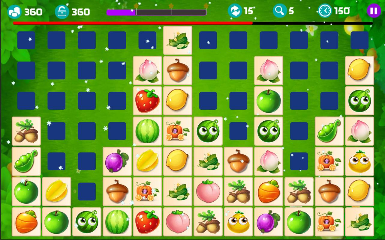 Onet Fruit Tropical 2019 – Connect Classic Game 1.0 Screenshot 5
