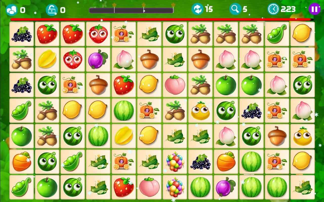 Onet Fruit Tropical 2019 – Connect Classic Game 1.0 Screenshot 6