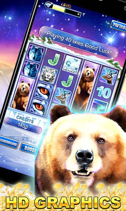 Slot Machine: Bear Slots 2.3 Screenshot 1