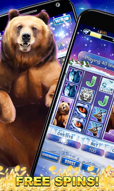 Slot Machine: Bear Slots 2.3 Screenshot 3