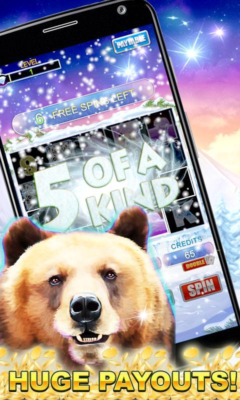 Slot Machine: Bear Slots 2.3 Screenshot 4