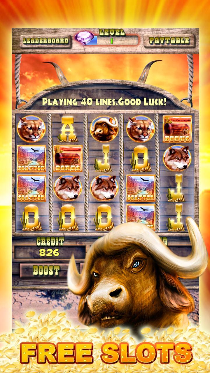 Slots Buffalo Free Casino Game 2.0 Screenshot 1